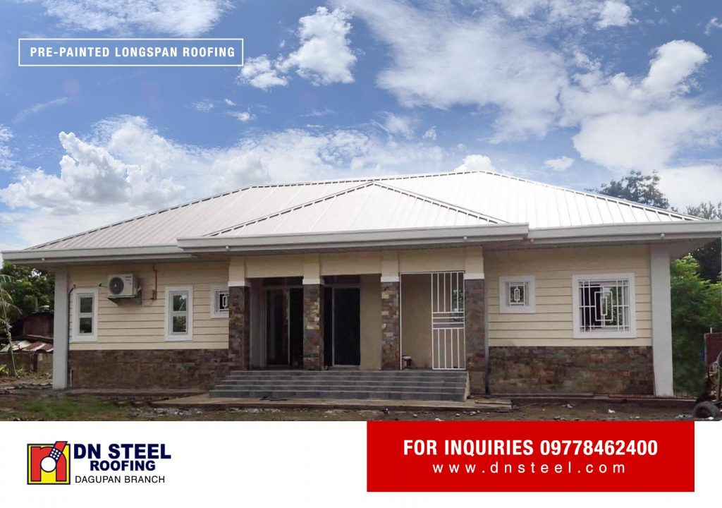 This Residential is a finished project of DN Dagupan Branch located in Banaoang Calasiao, Pangasinan using DN Hi-Rib 1030 profile.